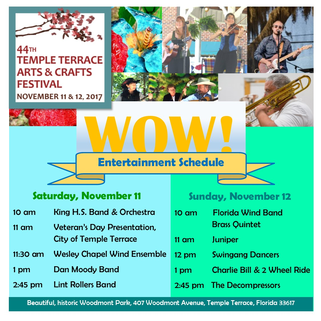 arts crafts festival temple terrace arts council